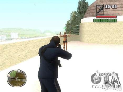 Viktor Zakhaev de COD MW 1 pour GTA San Andreas troisième écran