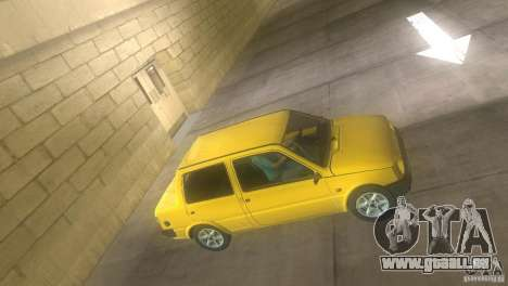 VAZ 1111 Oka Sedan pour une vue GTA Vice City de la gauche