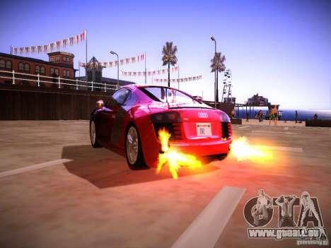 Effets du tuyau d'échappement pour GTA San Andreas deuxième écran