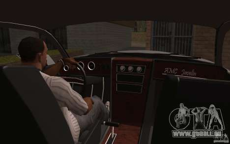 AMC Javelin 2010 für GTA San Andreas Seitenansicht