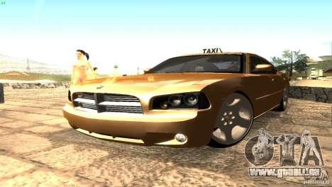 Dodge Charger SRT8 Re-Upload pour GTA San Andreas sur la vue arrière gauche