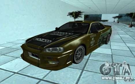 Nissan Skyline GT-R für GTA San Andreas
