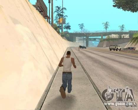 Sprint System v1.0 für GTA San Andreas zweiten Screenshot