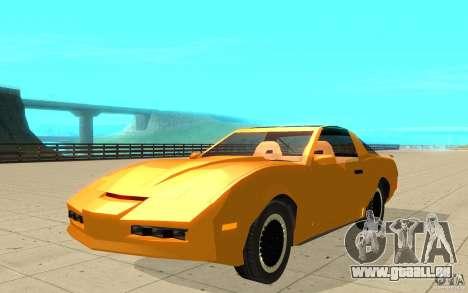 Pontiac Firebird 1989 K.I.T.T. für GTA San Andreas