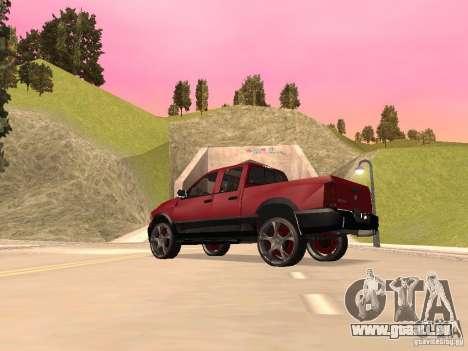 Dodge Ram 2010 für GTA San Andreas zurück linke Ansicht