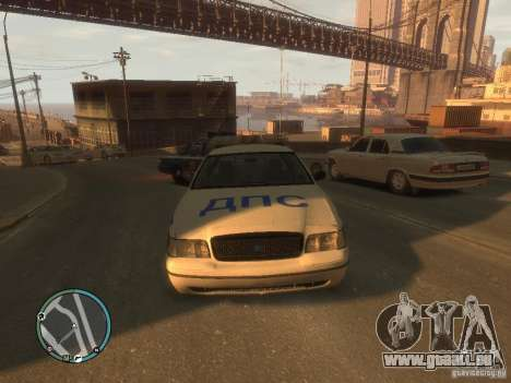 Ford Crown Victoria Police für GTA 4 linke Ansicht