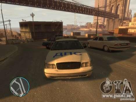 Ford Crown Victoria Police pour GTA 4 est une gauche