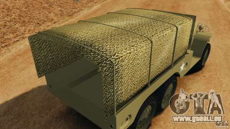 Dodge WC-62 3 Truck für GTA 4-Motor
