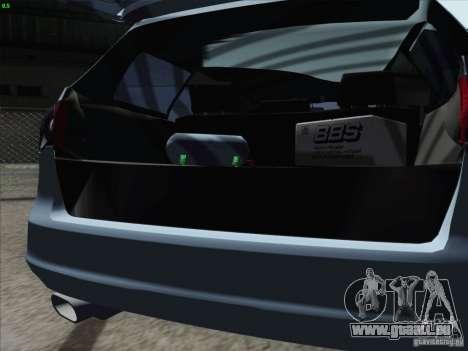 Volkswagen Passat B6 Variant Stance 2007 pour GTA San Andreas vue intérieure