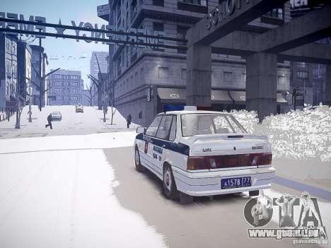 DPS VAZ 2115 pour GTA 4 est une gauche