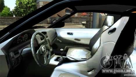 Nissan Sil1480 Drift Spec pour GTA 4 Vue arrière