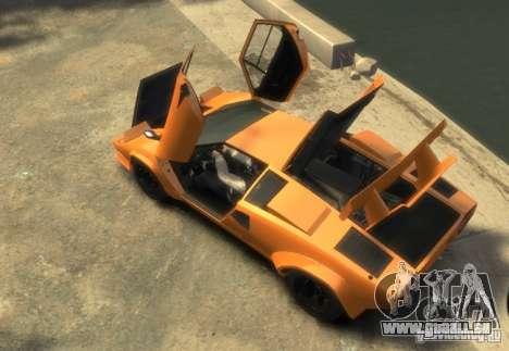 Lamborghini Countach LP500 1985 pour GTA 4 est un droit
