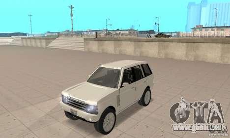 Range Rover Vogue 2003 für GTA San Andreas