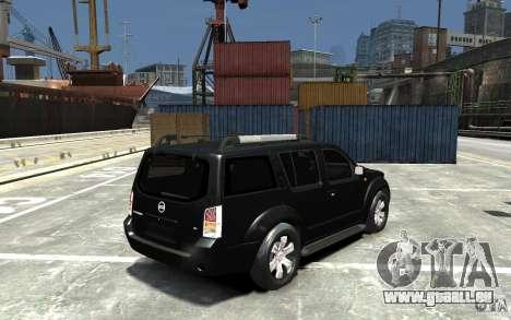 Nissan Pathfinder 2006 für GTA 4 rechte Ansicht