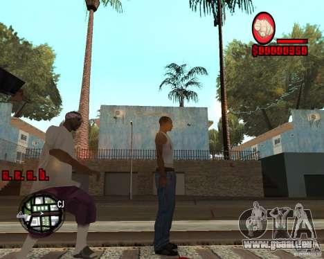 HUD by Russkiy pour GTA San Andreas deuxième écran