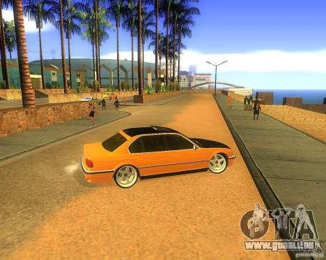 BMW 750iL e38 Drift Tune pour GTA San Andreas sur la vue arrière gauche