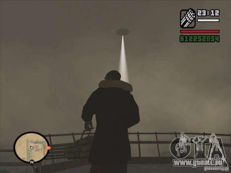 Mystérieux OVNIS dans la zone 51 pour GTA San Andreas troisième écran