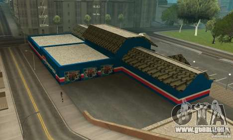Pepsi Market and Pepsi Truck pour GTA San Andreas deuxième écran