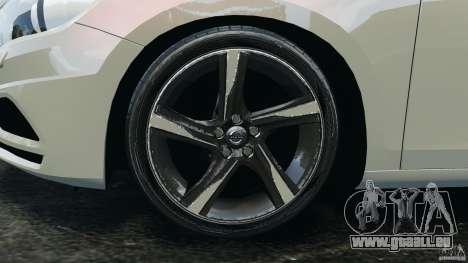 Volvo S60 R Design pour GTA 4 vue de dessus