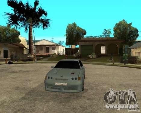 VAZ 2115 TTC Tuning pour GTA San Andreas vue arrière