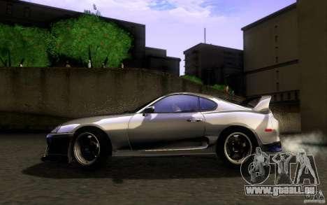 Toyota Supra D1 1998 für GTA San Andreas linke Ansicht