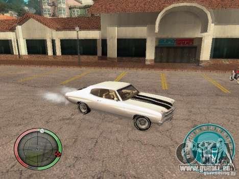 Skul Speedometer pour GTA San Andreas troisième écran