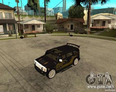 H2 HUMMER DUB LOWRIDE für GTA San Andreas