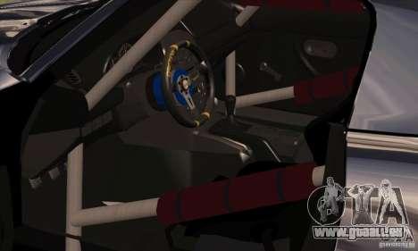 Mazda MX5 Style Drifting pour GTA San Andreas vue arrière