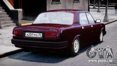 GAZ Volga 3110 pour GTA 4 est un côté