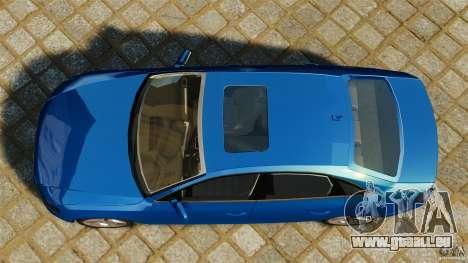 Audi A4 2010 für GTA 4 rechte Ansicht