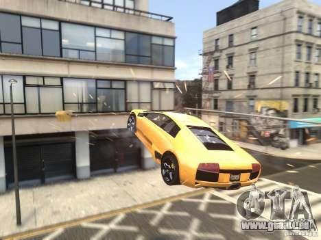 Lamborghini Murcielago LP640 2007 für GTA 4 obere Ansicht