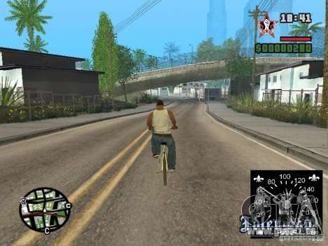 Neue Tacho für GTA San Andreas her Screenshot