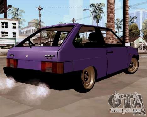VAZ 2108 RF pour GTA San Andreas laissé vue