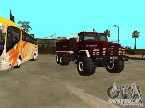 KrAZ 260 pour GTA San Andreas laissé vue