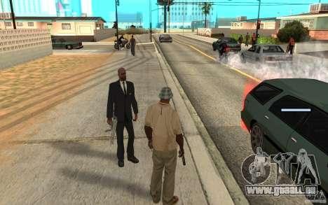 Protection pour Cj pour GTA San Andreas troisième écran