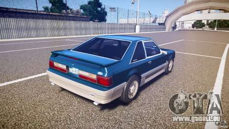 Ford Mustang GT 1993 Rims 1 pour GTA 4 est un côté