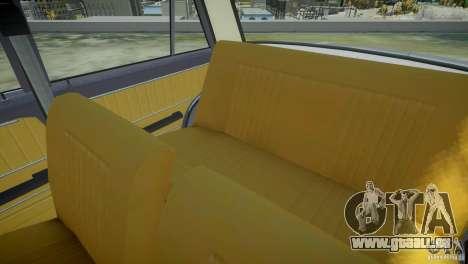 VAZ 2101 Stock pour GTA 4 vue de dessus