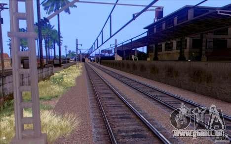 Russische Bahn Version V1. 0 für GTA San Andreas fünften Screenshot