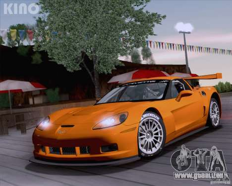 Chevrolet Corvette C6 Z06R GT3 v1.0.1 für GTA San Andreas