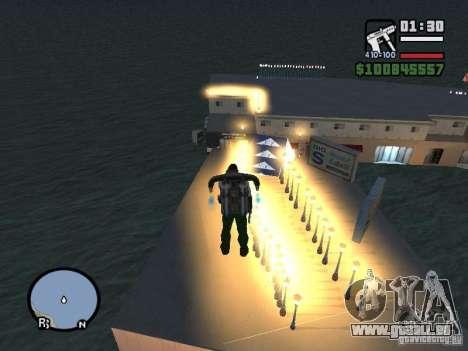Night moto track pour GTA San Andreas troisième écran