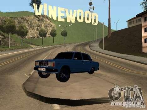 VAZ 2107 Bakou pour GTA San Andreas