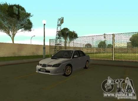 Subaru Impreza WRX STI-Street Racing pour GTA San Andreas