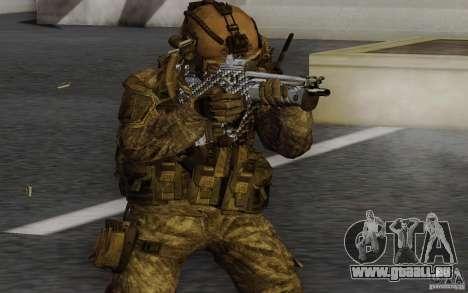 Tavor Tar-21 Carbon pour GTA San Andreas deuxième écran