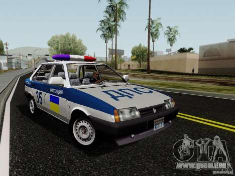 VAZ 21099, police pour GTA San Andreas