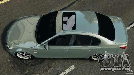 BMW M5 E60 2009 v2.0 pour GTA 4 est un droit