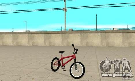 Powermatic BMX 2006 für GTA San Andreas linke Ansicht
