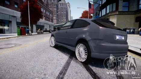Ford Focus ST (X-tuning) pour GTA 4 Vue arrière de la gauche