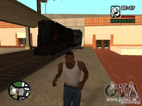 Combinez train depuis le jeu Half-Life 2 pour GTA San Andreas laissé vue
