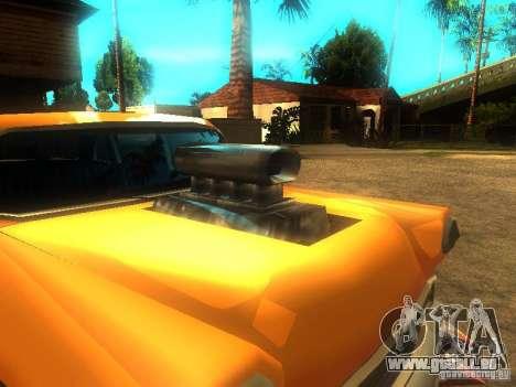Crazy CABBIE für GTA San Andreas linke Ansicht