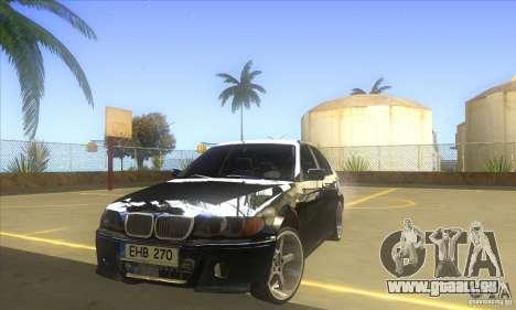 BMW 325i E46 v2.0 pour GTA San Andreas